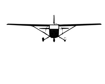 Cessna decal 9x2.5 in.