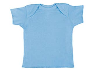 Baby Rib Lap Shoulder T-Shirt w/ Custom Print