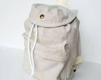Toddler backpack, knap sack, camping bag, pretend play, toddler bag, duffle bag, boy backpack,  toddler carry on, modern bag, boy scout bag