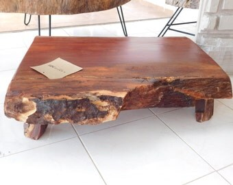 Hard wood low table