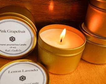 Ruah's Candle >> 4oz Tin Soy Candle