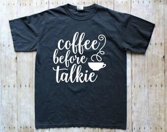 Coffee Graphic Tee - Graphic Tee Coffee - Womens Coffee Tee - Drink Coffee Tee - Coffee Shirt - Coffee Tees - Funny Coffee T-Shirt