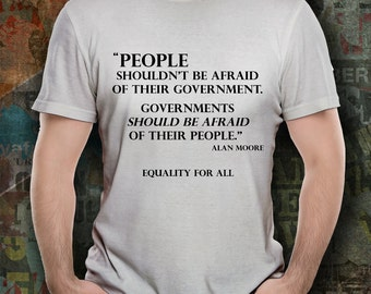 Political T Shirt - Equality For All - Equal Rights - Gift For Her - Gift For Him - T-Shirt - Fight For Equal Rights - Stand Up For All