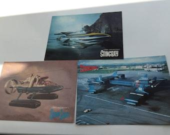 Thunderbird/ Stingray/Captain Scarlet Postcards