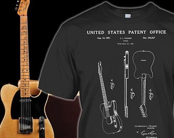 Fender Telecaster Tee - Fender Guitar Shirt for Fans - Fender Telecaster Gift -  Fender Telecaster Hoodie - Sizes Up to 5XL!