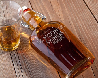 Glass Flask - Bootleggers
