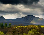 View of Brecon Beacons...
