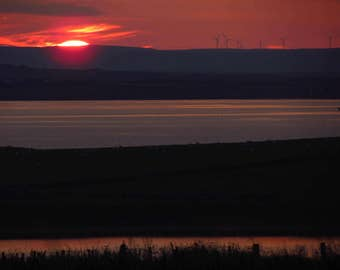 Orkney: Late sunset - photography print