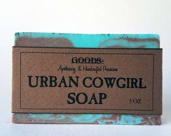 Urban Cowgirl Soap, Natural Soap, Glycerin Soap