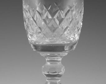 WATERFORD Crystal - BOYNE Cut - Port Wine Glass / Glasses - 3 7/8""