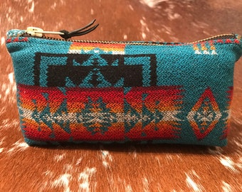 Padded Pendleton Pipe Pouch