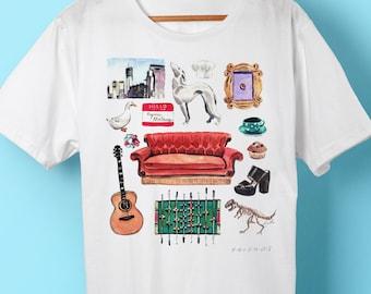 Friends TV show, friends shirt, friends TV shirt, Friends show, shirt, tshirt, t-shirt,  Friends, gift, gift for her, friends tv show shirt