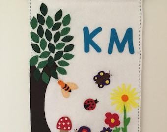 Spring garden Classroom banner