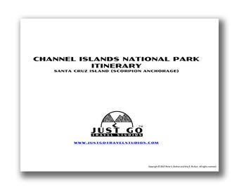 Channel Islands National Park Itinerary, Channel Islands, Channel Islands Itinerary, Travel Itinerary, National Park Planner, Travel Planner
