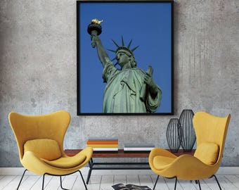 Statue Of Liberty, New York Decal, New York Wall Decal, New York City Part 50