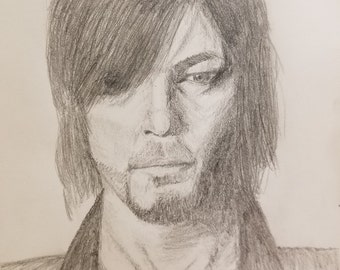 Hand Drawn Pencil Sketch of Your Favorite Charactors/Actors or Friends/Familiy Members Headshots
