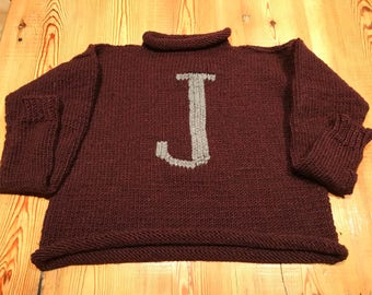 Ron Weasley / Harry Potter hand kintted sweater