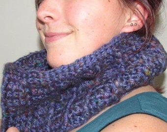 Purple Cowl Scarf