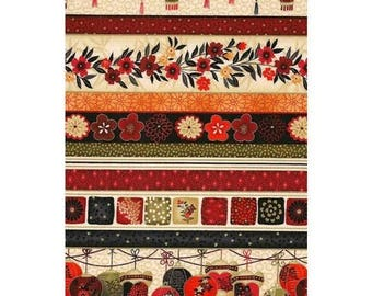 Cotton Fabric Quilting Asian Accents Fabric