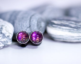 10mm Plugs, Ear Plugs, Jewellery for Stretched Ears, Gauges, Stretched Ears, Earrings, Purple Earrings