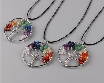 Tree of Life// chakra energy// gifts for her// jewelry// best selling items// pendant necklace// handcrafted