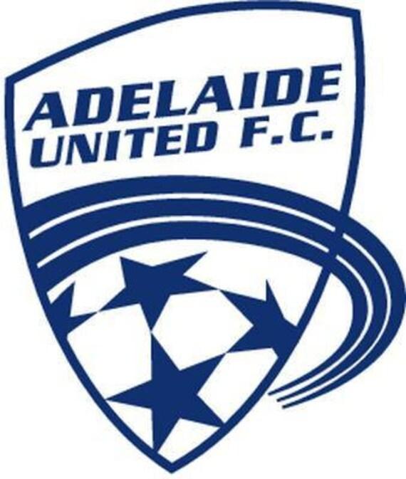 Vinyl Decal Sticker - Adelaide United F.C. Decal for Windows, Cars, Laptops, Macbook, Yeti, Coolers, Mugs etc