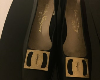Shoes Salvatore Ferragamo vintage.