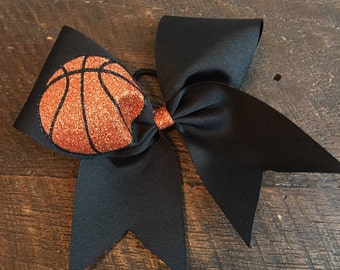 Personlized Basketball Cheer Bow