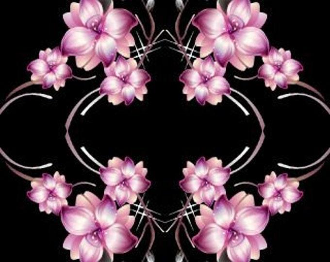 Floral fabric, flower cross fabric, cross fabric, fabric, designer fabric, custom fabric, fabric by the yard, sample fabric, new fabric,