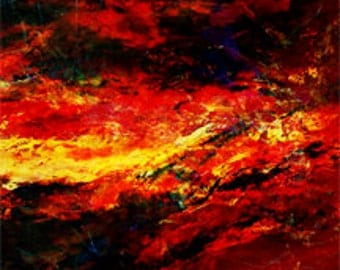 Abstract Art - Digital Download - Molten Core