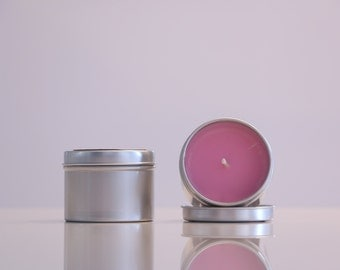 La Mojie Candle - Champagne Roses - 100% Natural