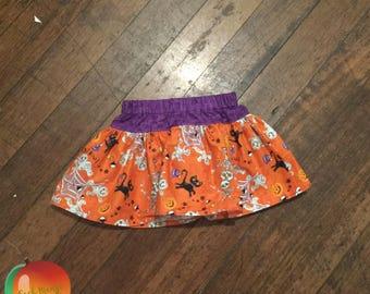 Halloween Twirly Skirt ~ Size 3