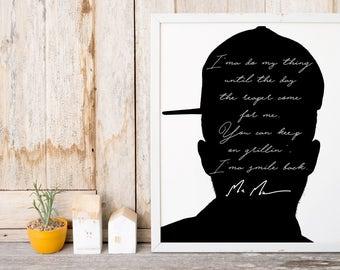 "Mac Miller ""I'ma Do My Thing"" Art Print"