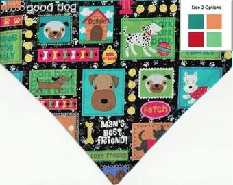 A Dog's Life Bandana | Custom Dog Bandana | Custom Custom Dog Bandana