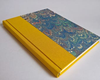 Yellow Marble Notebook Paper Cover