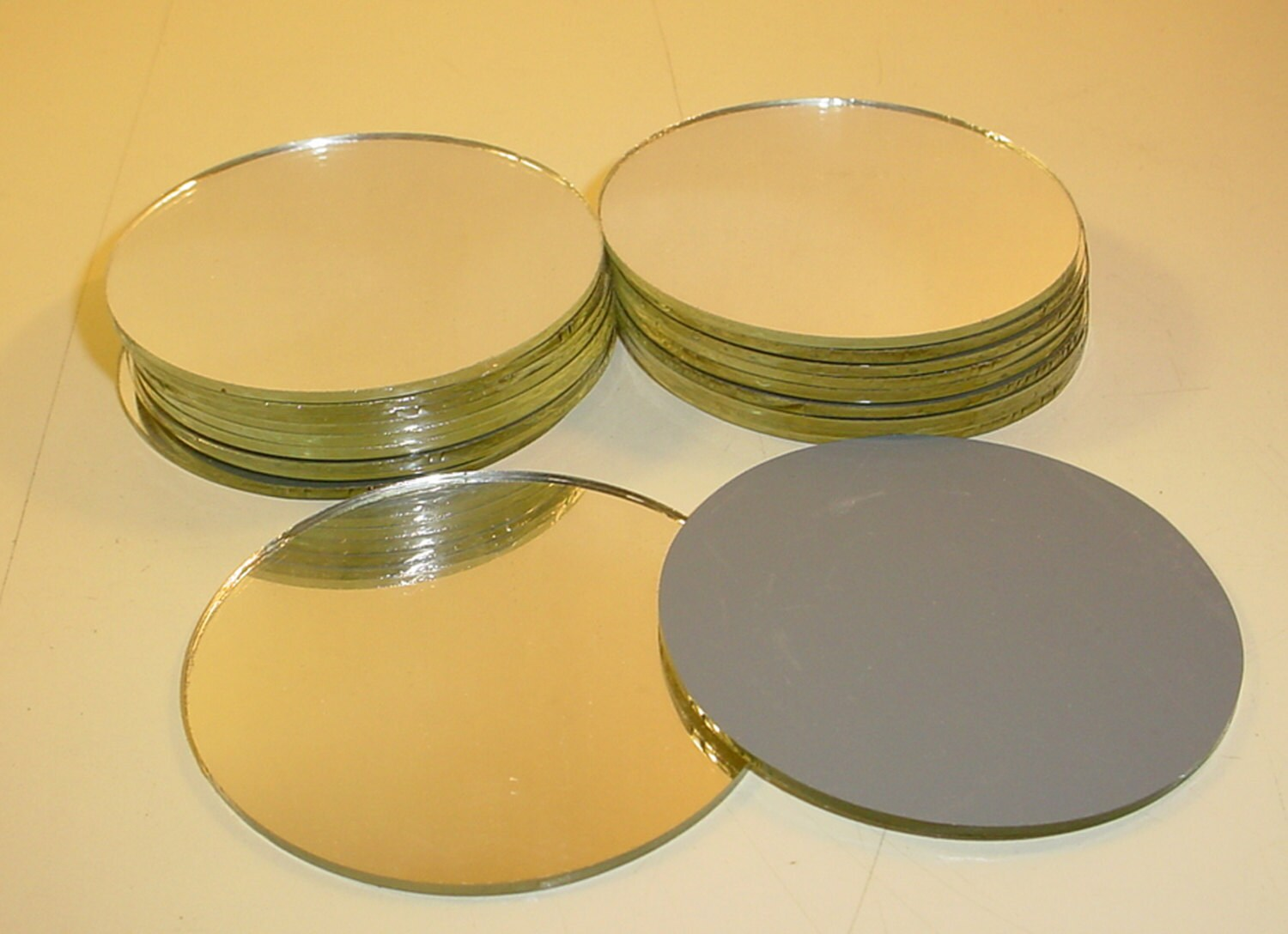 Small round mirrors for crafts - Small Round Craft Mirrors