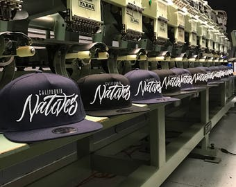 One Dozen 3D Puff Embroidered Custom Hats For Your Business.