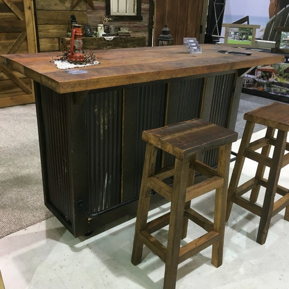 Rustic Bar Or Kitchen Island