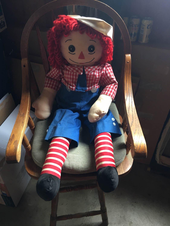 giant raggedy ann u0026 andy dolls