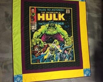 Hulk quilt