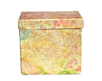 Handmade Yellow Box