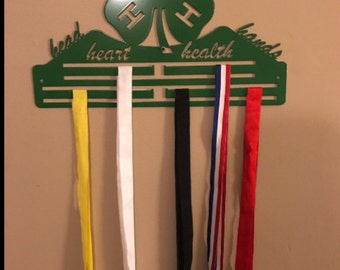 4H Awards Ribbon Hanger Display