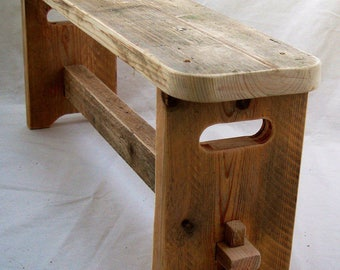 Traditional Vintage Style Bench Seat (Small)
