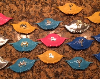 Crab Ornaments- Gulf of Mexico Crabs!
