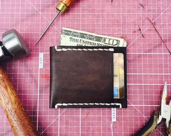 Card and Cash Leather Wallet