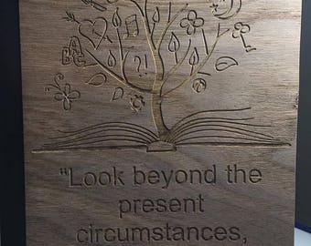 Custom Engraved Wooden Journals