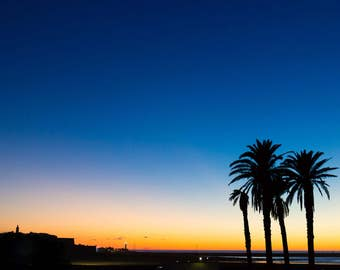 Rabat sunset, Morocco - Digital fine art photography print