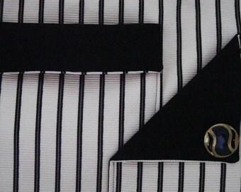 Black and white handbag/purse