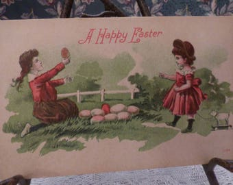 Early Happy Easter postcard
