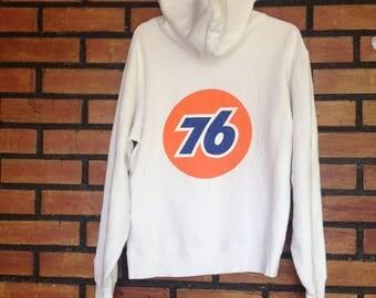 Sale Sale!!! Rare Vintage 76 LUBRICANTS  Sweatshirt   Size S